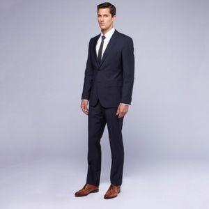 """Hugo Boss """"The James/Sharp 2"""" Full Suit Size 42R"""